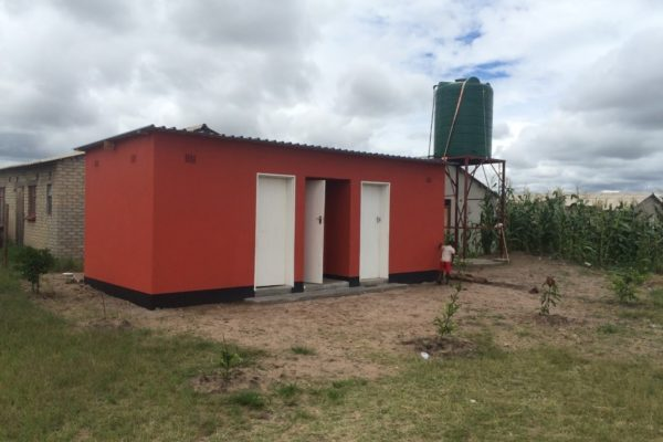 Our smart new ablution block