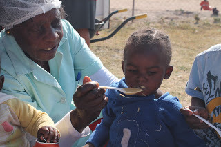 Dorcas loves and cares for each child, even well into her 70s