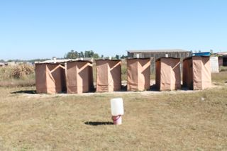 Our old blair toilets - a good start!