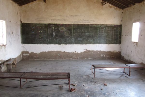 So much can be done to renovate this school and make it into a wonderful place for the farm children to go to school